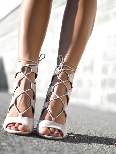 57d3ef20 Jak Nosić Sandały Wiązane Przy Kostce? | STILI