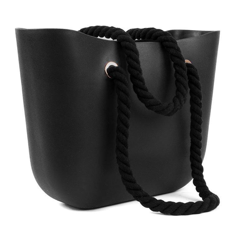 Czarna torebka Czarny