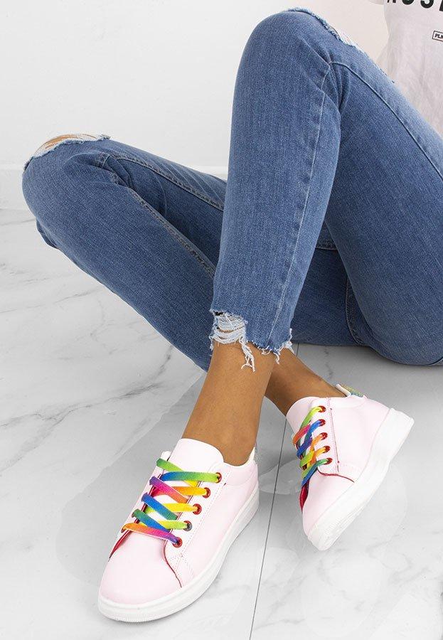 Kolorowe Buty Sportowe Mariens Stili