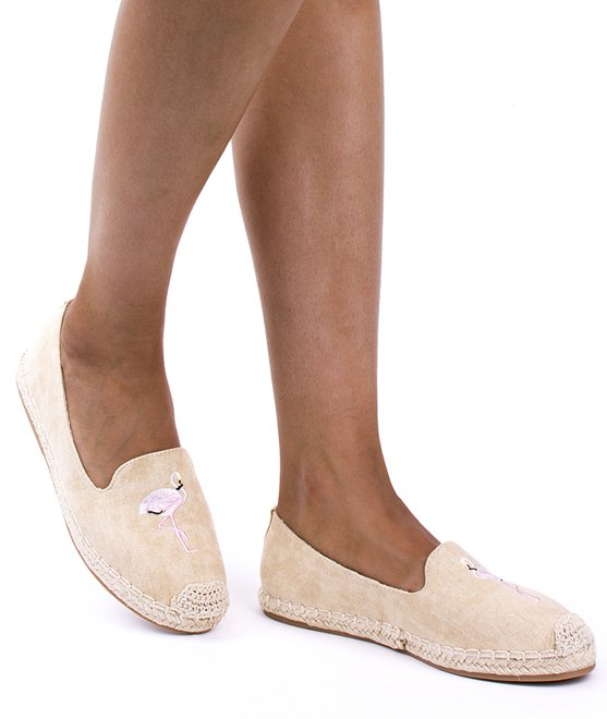 BEŻOWE ESPADRYLE BALERINKI FLAMING 3